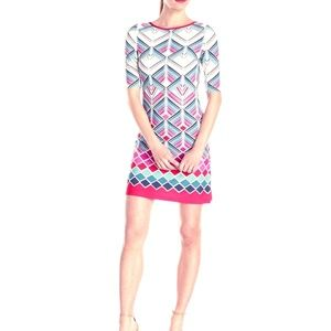 Eliza J Geometric Shift Dress 6